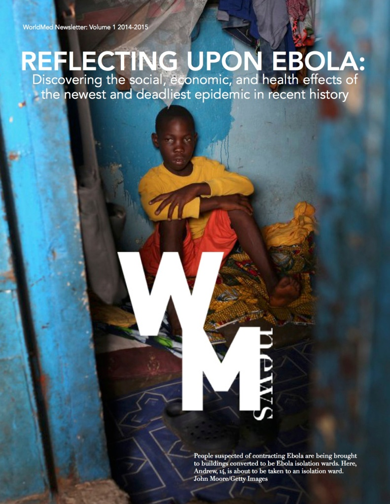 Ebola Newsletter 2014 page 1