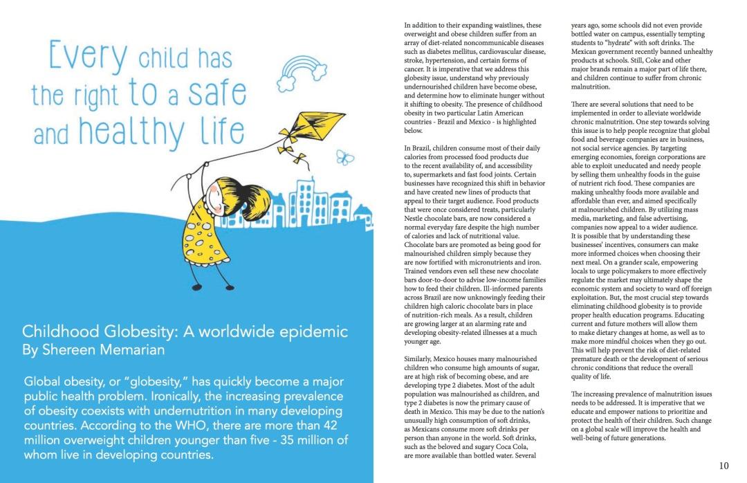 Our Children, Our Future - WM News Volume 2, 2014-2015 P6