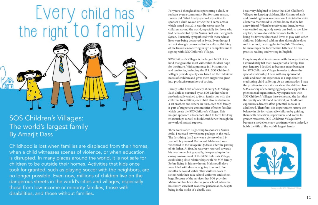 Our Children, Our Future - WM News Volume 2, 2014-2015 P7