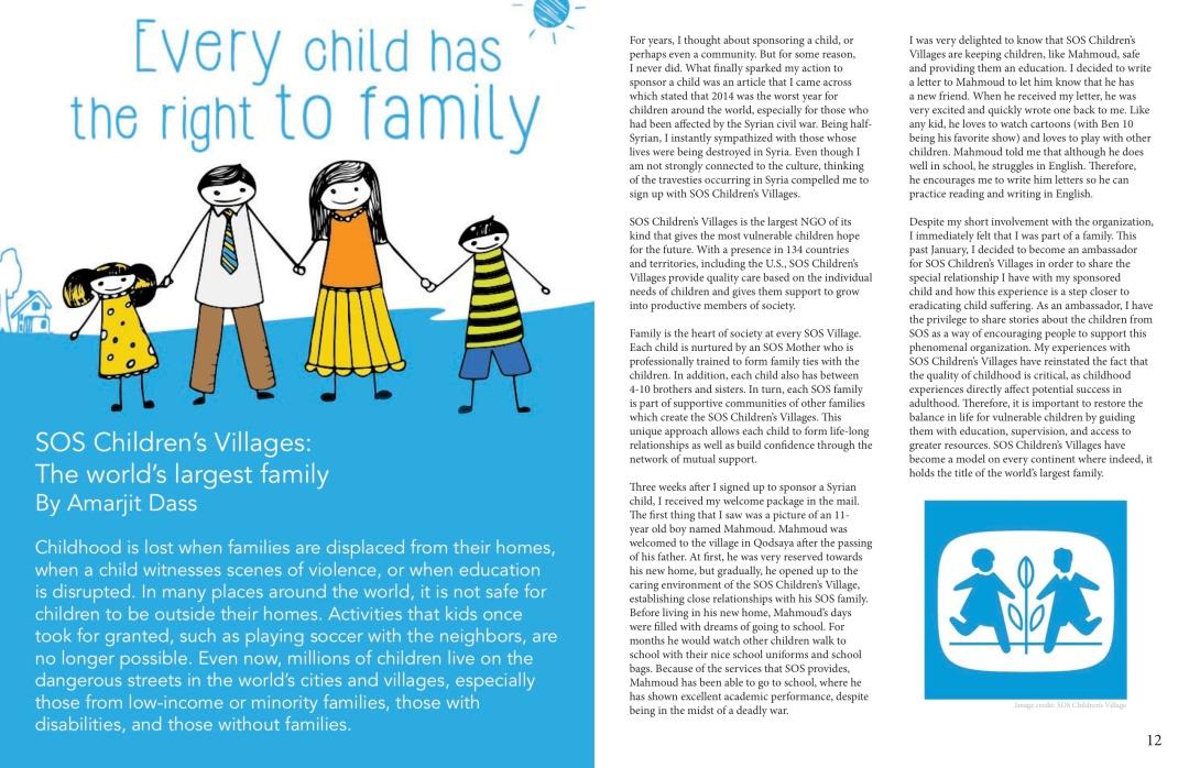 Our Children, Our Future - WM News Volume 2, 2014-2015 P7