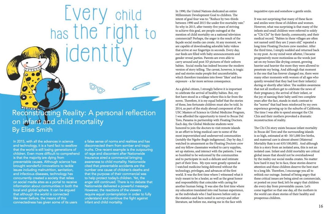 Our Children, Our Future - WM News Volume 2, 2014-2015 P9
